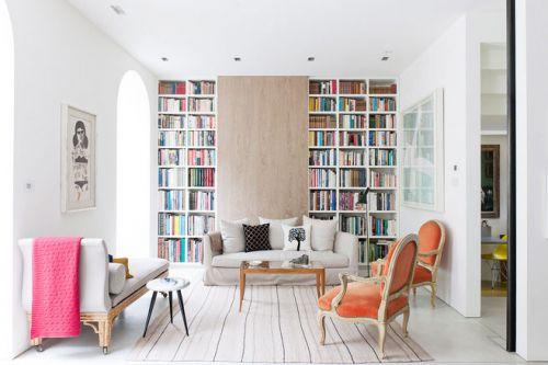 时尚欧式风 13张书柜设计图欣赏