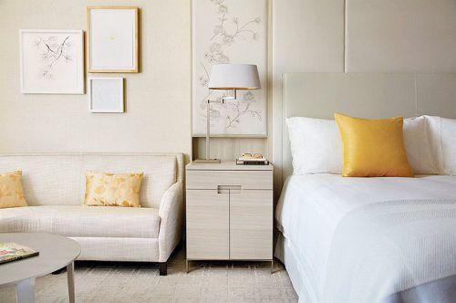 舒适自然风 16款实木床头柜设计