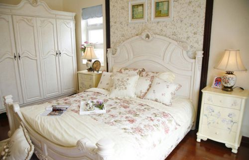 畅享悠闲自在 12款田园床头柜效果图