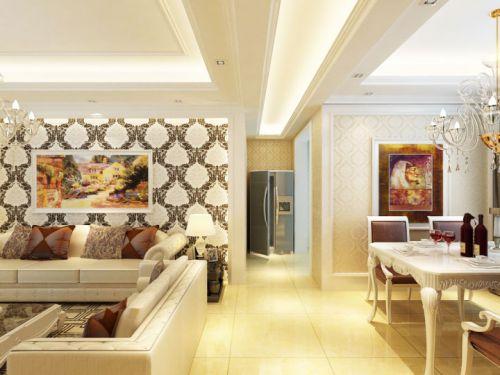 18张餐厅与客厅过道设计图 明晰的功能分区