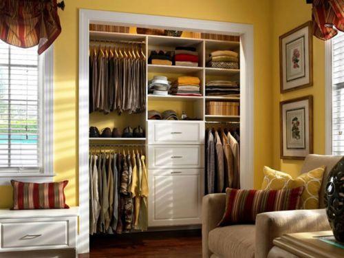 简洁利落省空间 15款宜家风衣柜设计