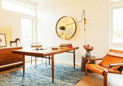 14款新中式书房 稳重与创意完美融合