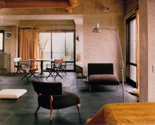 粗糙与豪华的混合 曼哈顿工业风格公寓