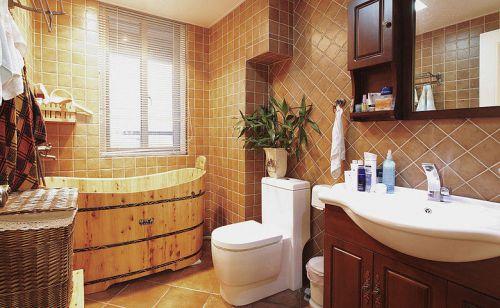 125平米美式小三房 我最愛的駝色新家