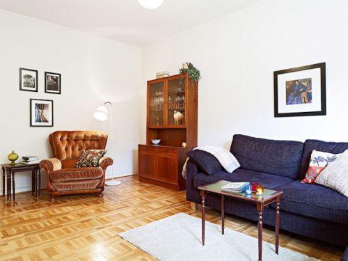 简欧风格设计 18张简洁沙发背景墙图片