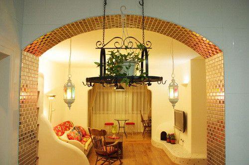 经济型装修地中海风浪漫小屋