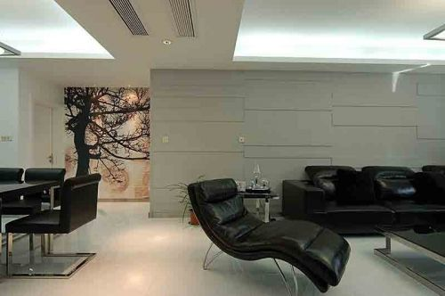 金丰蓝庭——8万打造95平米现代简约之家