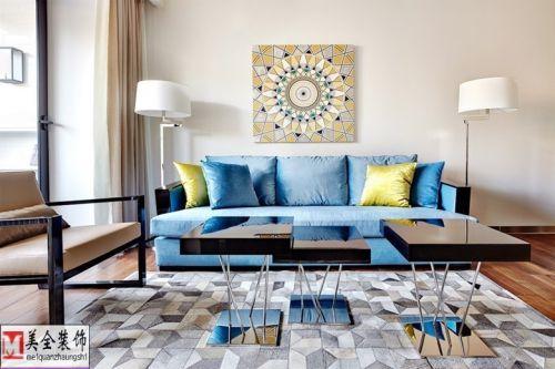 育才公寓——50平现代风格小户型房