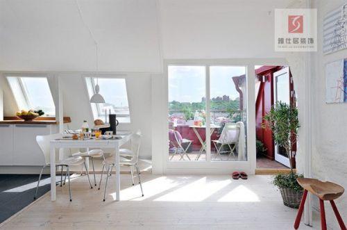 金地自在城——120平欧式风格阁楼