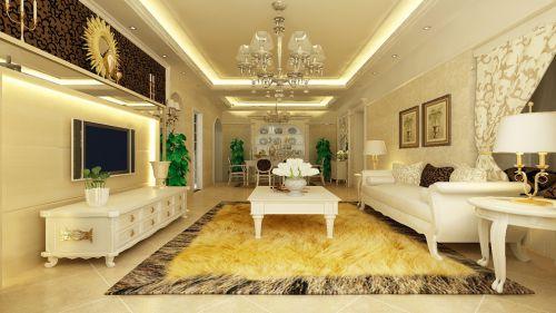 江滨御景——90平欧式现代风格小户型之家