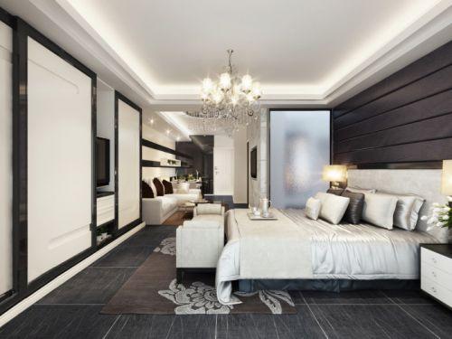 纯粹室内艺术事务所设计现代黑白