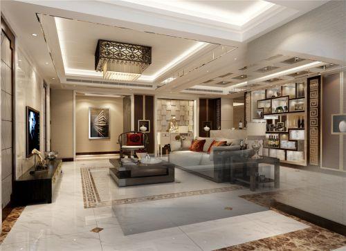 永业公寓大平层欧式风格设计方案