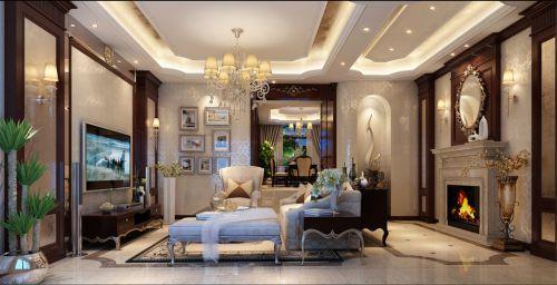合生城邦250平别墅装修欧式风格设计!