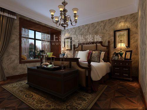 昌建譽峰168平四室兩廳美式鄉村案例效果圖