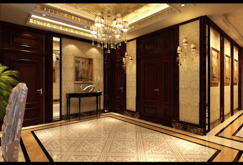 金地名京4室3厅220平米新古典风格