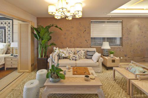 恒河广场1室1厅90平米简约风格