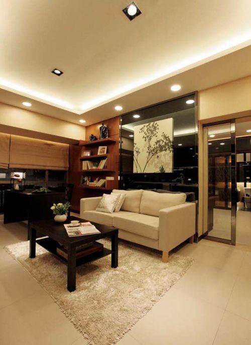 日式以简胜繁的室内设计效果