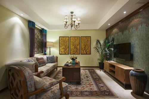 万润橄榄城3室2厅110平米地中海风格