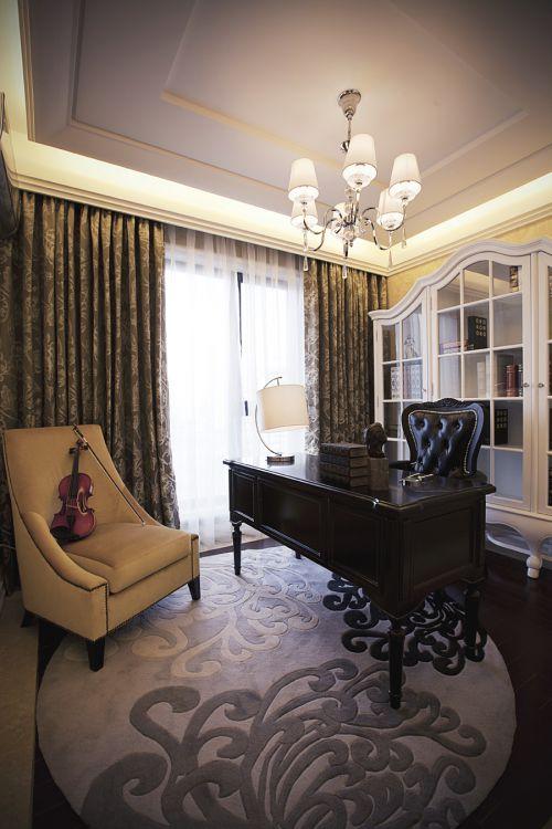 时尚印象3室2厅140平米新古典风格