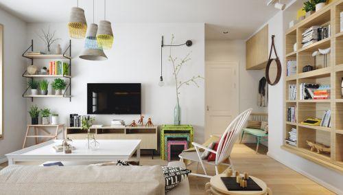 现代北欧风公寓
