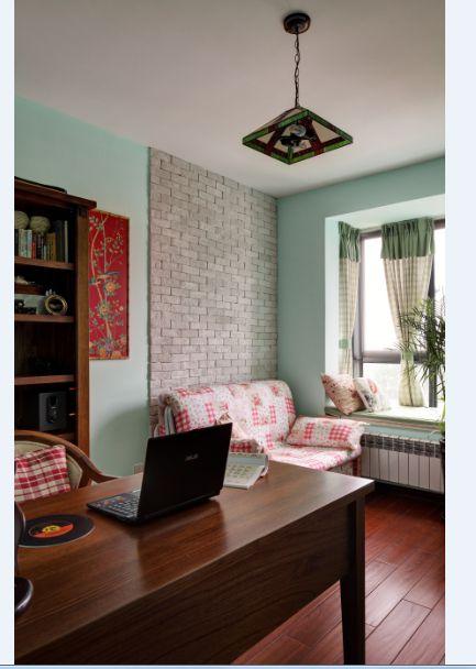兰香溪谷3室2厅120平米田园风格