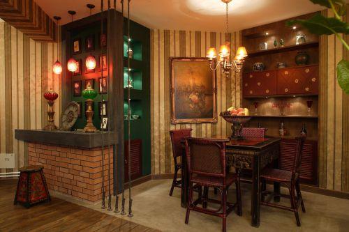 人盛巴厘天地3室2厅150平米田园风格