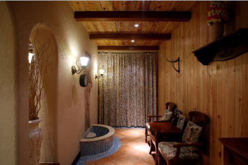托斯卡纳3室2厅120平米田园风格