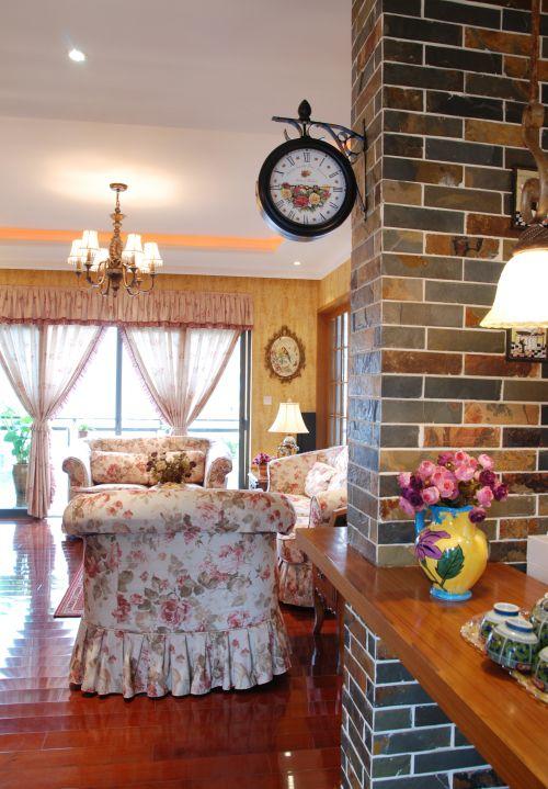 托斯卡纳3室2厅150平米田园风格