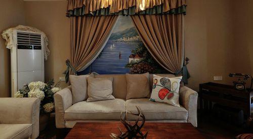 航空新城3室2厅100平米地中海风格