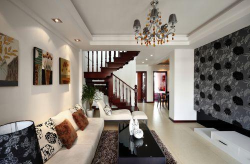 龙都国际3室2厅116平米田园风格