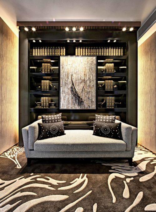 保利西雅图3室2厅115平米现代风格