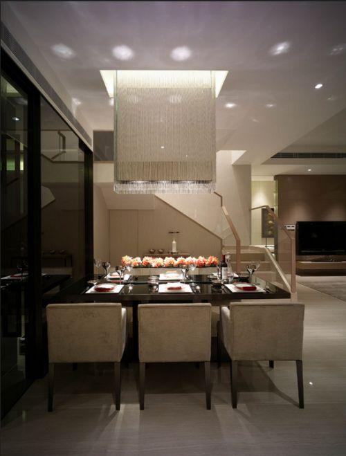 金沙半岛3室2厅115平米现代风格