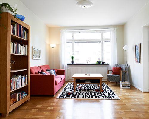 保利红馆1室1厅79平米现代风格