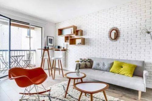 僅僅只有25平方米集合家與工作室的小住宅