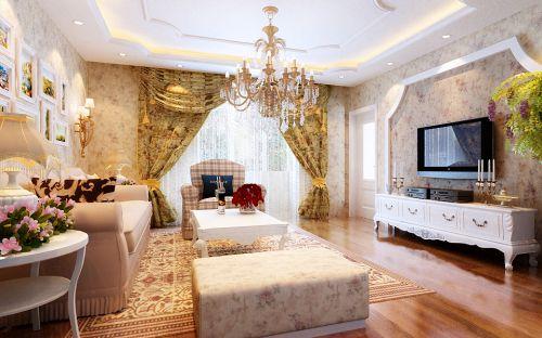 韩式田园风格舒适奢华3居室