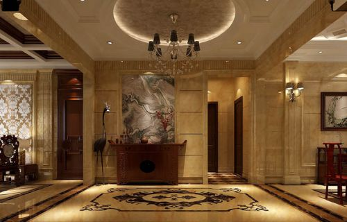 西山一号院5室4厅208平米混搭风格