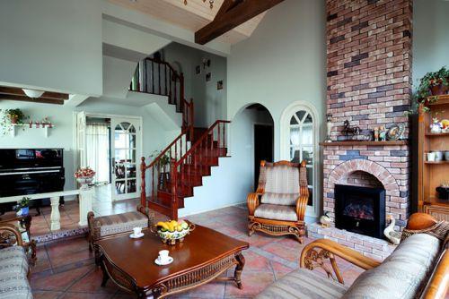 狮城百丽1室2厅200平米田园风格
