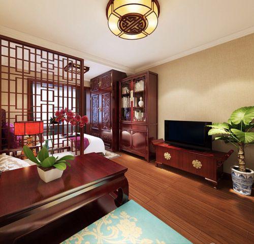 北京恒大城1室11厅60平米中式风格