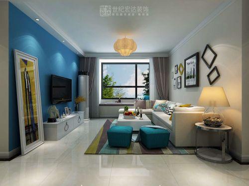 济南中海国际社区110平方现代简约风格装修效果