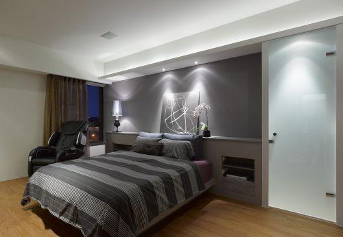 中铁・逸都国际小区-170平米5居室装修-现代简约风格