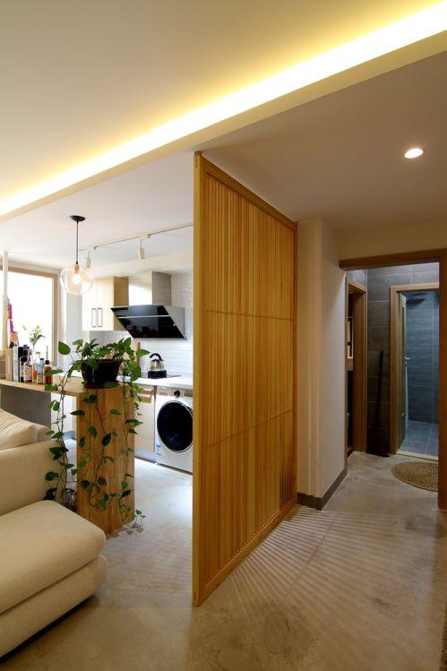 七九八零室内设计工作室旧房改造之日式与北欧的亲密接触!