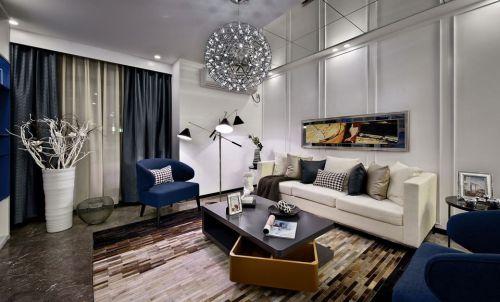 同邦国际城4室2厅110平米地中海风格