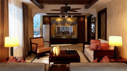 华侨城3室1厅138平米简约风格
