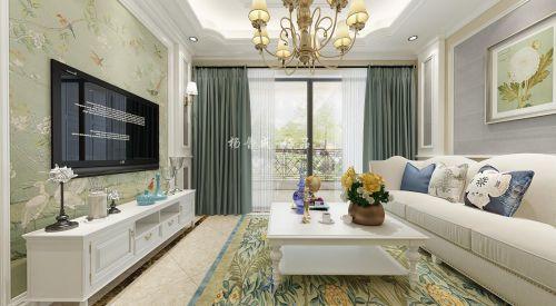 保利江上明珠畅园-现代美式风格装修设计案例