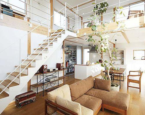 93平米loft无印良品之家