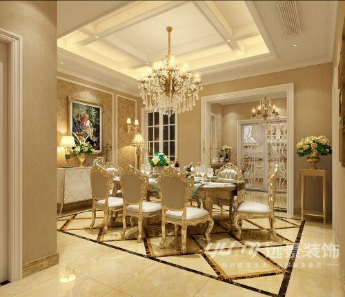 【重庆远景装饰】洋丰圣乔维斯新古典风格装修-设计师张星