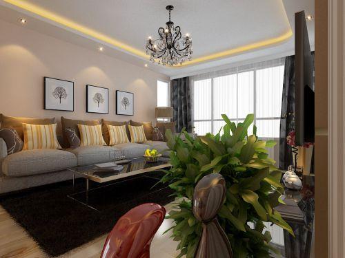 东亚尚院2室1厅85平米现代风格