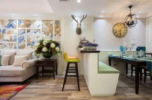 智地·香蜜湾3室1厅90平米韩式风格