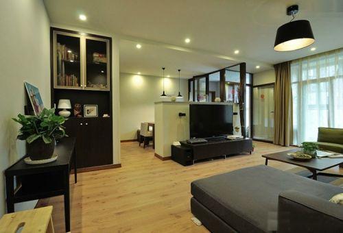 文冠山庄2室1厅85平米现代风格