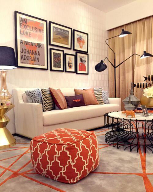 东亚尚院2室1厅88平米现代风格
